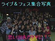 ライブ&フェスで集合写真!!