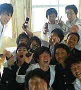 平群中学校2005年3月卒業