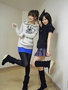 麻里子と敦子☆実は仲良し♪