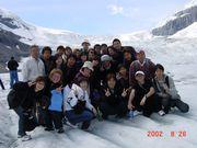 カナダ語学研修  2002
