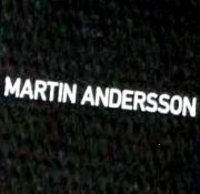 MARTIN  ANDERSSON