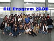 BIE PROGRAM *semester 2006*