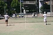 神戸 三宮 テニスの練習