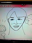 本田朋子が描く似顔絵の破壊力。