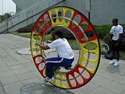 まちがっている一輪車