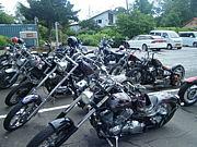 札幌アメリカンバイク乗り