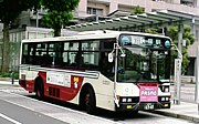 路線バス型車両を貸切ってみよう
