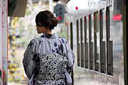 『着物で京都観光』金閣寺・嵐山