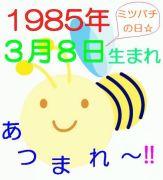 1985年3月8日生まれ