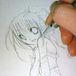 ティナを描く事に幸せを感じる