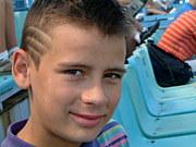 ルーマニアに住む若者