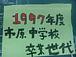1997年度市原中学校卒業世代☆