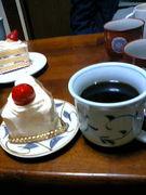 <一杯の珈琲。>