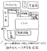 神戸外大〜六甲学舎