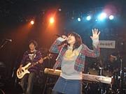 女性ボーカルバンドのライブ!
