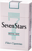 Seven Stars Menthol Lights
