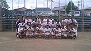 第六十二代浜名高校野球部