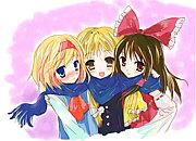 アリス×魔理沙×霊夢