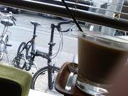 自転車やバイクでカフェ☆