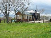 ウルリー牧場サイロ小屋