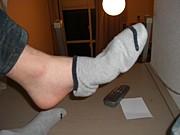 締まりの無い靴下