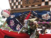 京三山車の会