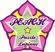 PEACH puzzle Lupinas