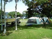 オートキャンプ好きで、北海道。