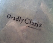 Deadly Clarisのシール