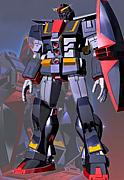 サイコガンダムに乗るMRX-009