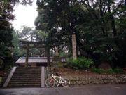 自転車で田舎神社めぐり