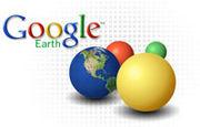 Google Earth de ぐるぐるアース