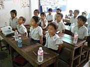 カンボジアでフリースクール