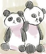 幸せになるパンダ