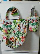 hawaiian fula girls bag
