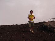 サンダルで富士登山