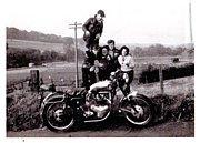 Rockers ride Motorbikes