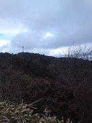 六甲山を自転車で登る
