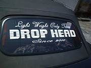 DROP HEAD