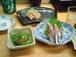 お寿司屋さんで一杯を楽しむ