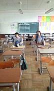 厚生中学校 マスゲーム準備!