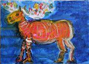 田中拓馬のアートと食品物々交換