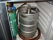 自宅で樽地ビール