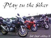 Play on the biker