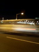 トンネル・オレンジの光