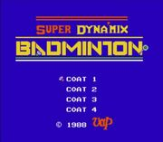 SUPER DYNA'MIX BADMINTON 浦安
