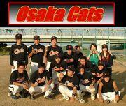 草野球チーム 大阪Cats
