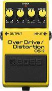 overdrive/distortion BOSS