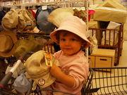 帽子キャラ