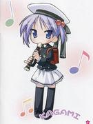 柊かがみの笛とランドセル